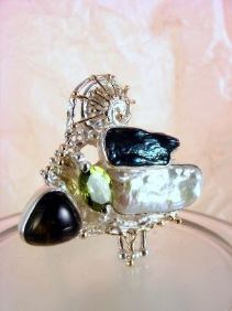 Follow us, Join us on Facebook, and visit http://www.designerartjewellery.com, Gregory Pyra Piro One of a Kind Handmade Jewellery in London in Silver and Gold, Bespoke Jewellery with Semi Precious Stones, #Ring 8932