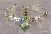 RT or Repin this Now Gregory Pyra Piro One of a Kind Original #Handmade #Gold and #Sterling #Silver #Bracelet 2940
