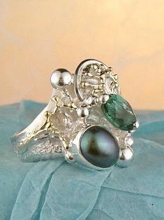 Follow us, Join us on Facebook, and visit http://www.designerartjewellery.com, Gregory Pyra Piro One of a Kind Handmade Jewellery in London in Silver and Gold, Bespoke Jewellery with Semi Precious Stones, #Ring 4978