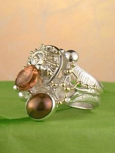 Follow us, Join us on Facebook, and visit http://www.designerartjewellery.com, Gregory Pyra Piro One of a Kind Handmade Jewellery in London in Silver and Gold, Bespoke Jewellery with Semi Precious Stones, #Ring 3852