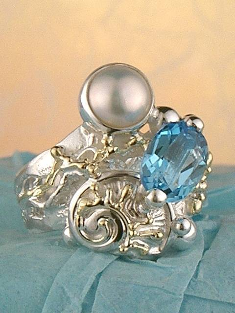 Follow us, Join us on Facebook, and visit http://www.designerartjewellery.com, Gregory Pyra Piro One of a Kind Handmade Jewellery in London in Silver and Gold, Bespoke Jewellery with Semi Precious Stones, #Ring 4285