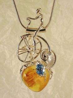 Original Handmade by Artist Designer Maker, Gregory Pyra Piro One of a Kind Original #Handmade #Sterling #Silver and #Gold, Jewellery in #London, #Art Jewellery, #Jewellery Handcrafted by #Artist, #Pendant 2102
