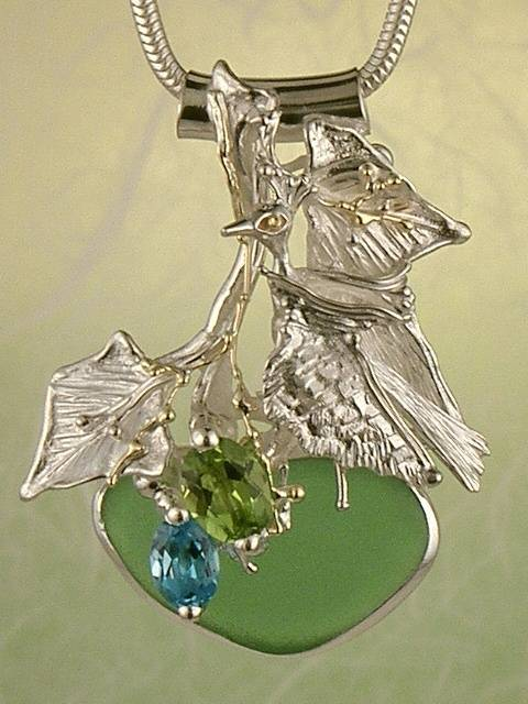 Art Jewelry with Birds, Animals, and Wildlife