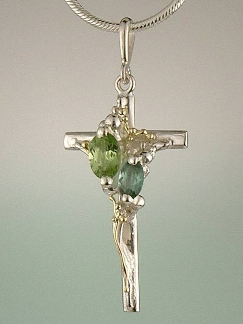 Follow Me and Visit my Site http://www.designerartjewellery.com Gregory Pyra Piro One of a Kind Handmade Jewellery in London in Silver and Gold, Bespoke Jewellery with Semi Precious Stones, #Cross #Pendant 9438