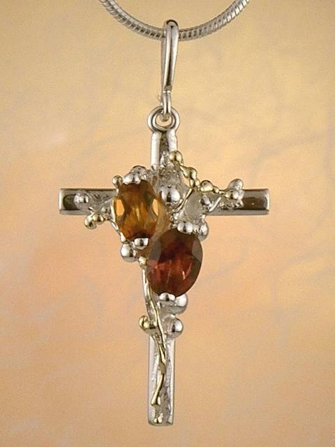 Follow Me and Visit my Site http://www.designerartjewellery.com Gregory Pyra Piro One of a Kind Handmade Jewellery in London in Silver and Gold, Bespoke Jewellery with Semi Precious Stones, #Cross #Pendant 8562