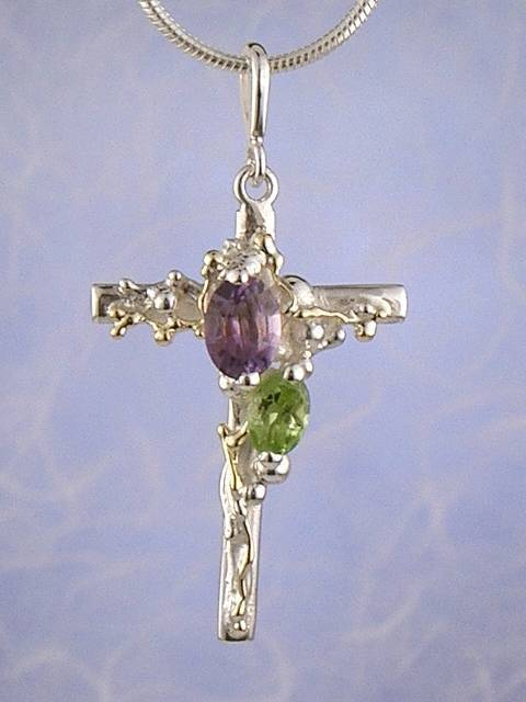 Follow Me and Visit my Site http://www.designerartjewellery.com Gregory Pyra Piro One of a Kind Handmade Jewellery in London in Silver and Gold, Bespoke Jewellery with Semi Precious Stones, #Cross #Pendant 3009