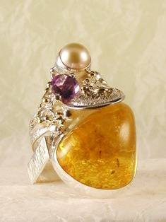 Original Handmade by Artist Designer Maker, Gregory Pyra Piro One of a Kind Original #Handmade #Sterling #Silver and #Gold, Jewellery in #London, #Art Jewellery, #Jewellery Handcrafted by #Artist, #Ring 4001