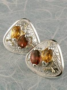 Original Handmade by Artist Designer Maker, Gregory Pyra Piro One of a Kind Original #Handmade #Sterling #Silver and #Gold, Jewellery in #London, #Art Jewellery, #Jewellery Handcrafted by #Artist, #Earrings 3859