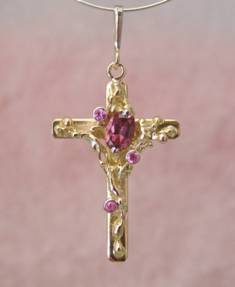 Follow Me and Visit my Site http://www.designerartjewellery.com Gregory Pyra Piro One of a Kind Handmade Jewellery in London in Silver and Gold, Bespoke Jewellery with Semi Precious Stones, #Cross #Pendant 2012