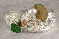 Follow us, Join us on Facebook, and visit http://www.designerartjewellery.com, Gregory Pyra Piro One of a Kind Handmade Jewellery in London in Silver and Gold, Bespoke Jewellery with Semi Precious Stones, #Ammonite #Pendant 2532