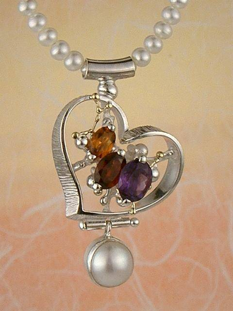 Original Handmade by Artist Designer Maker, Gregory Pyra Piro One of a Kind Original #Handmade #Sterling #Silver and #Gold, Jewellery in #London, #Art Jewellery, #Jewellery Handcrafted by #Artist, #Necklace 7587