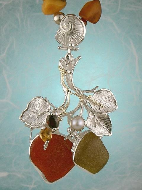 Original Handmade by Artist Designer Maker, Gregory Pyra Piro One of a Kind Original #Handmade #Sterling #Silver and #Gold, Jewellery in #London, #Art Jewellery, #Jewellery Handcrafted by #Artist, #Necklace 3958