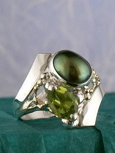 Original Handmade by Artist Designer Maker, Gregory Pyra Piro One of a Kind Original #Handmade #Sterling #Silver and #Gold, Jewellery in #London, #Art Jewellery, #Jewellery Handcrafted by #Artist, #Ring 2194