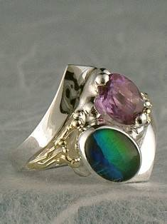 Original Handmade by Artist Designer Maker, Gregory Pyra Piro One of a Kind Original #Handmade #Sterling #Silver and #Gold, Jewellery in #London, #Art Jewellery, #Jewellery Handcrafted by #Artist, #Ring 9604