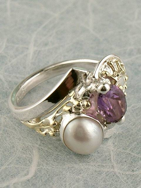 Original Handmade by Artist Designer Maker, Gregory Pyra Piro One of a Kind Original #Handmade #Sterling #Silver and #Gold, Jewellery in #London, #Art Jewellery, #Jewellery Handcrafted by #Artist, #Ring 6843