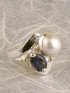 Original Handmade by Artist Designer Maker, Gregory Pyra Piro One of a Kind Original #Handmade #Sterling #Silver and #Gold, Jewellery in #London, #Art Jewellery, #Jewellery Handcrafted by #Artist, #Ring 4832