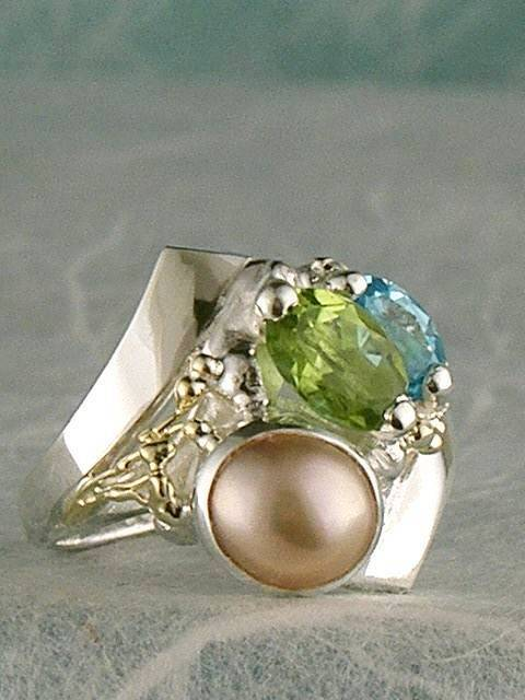 Original Handmade by Artist Designer Maker, Gregory Pyra Piro One of a Kind Original #Handmade #Sterling #Silver and #Gold, Jewellery in #London, #Art Jewellery, #Jewellery Handcrafted by #Artist, #Ring 8654