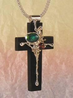 Follow Me and Visit my Site http://www.designerartjewellery.com Gregory Pyra Piro One of a Kind Handmade Jewellery in London in Silver and Gold, Bespoke Jewellery with Semi Precious Stones, #Cross #Pendant 8395