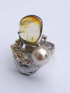 Original Handmade by Artist Designer Maker, Gregory Pyra Piro One of a Kind Original #Handmade #Sterling #Silver and #Gold, Jewellery in #London, #Art Jewellery, #Jewellery Handcrafted by #Artist, #Ring 5943