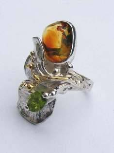 Original Handmade by Artist Designer Maker, Gregory Pyra Piro One of a Kind Original #Handmade #Sterling #Silver and #Gold, Jewellery in #London, #Art Jewellery, #Jewellery Handcrafted by #Artist, #Ring 6543