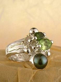 Original Handmade by Artist Designer Maker, Gregory Pyra Piro One of a Kind Original #Handmade #Sterling #Silver and #Gold, Jewellery in #London, #Art Jewellery, #Jewellery Handcrafted by #Artist, #Ring 3749