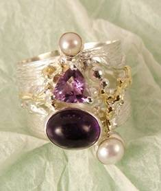 Follow us, Join us on Facebook, and visit http://www.designerartjewellery.com, Gregory Pyra Piro One of a Kind Handmade Jewellery in London in Silver and Gold, Bespoke Jewellery with Semi Precious Stones, #Ring 5382