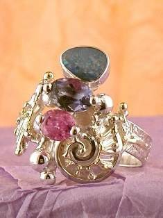 Follow us, Join us on Facebook, and visit http://www.designerartjewellery.com, Gregory Pyra Piro One of a Kind Handmade Jewellery in London in Silver and Gold, Bespoke Jewellery with Semi Precious Stones, #Ring 9803