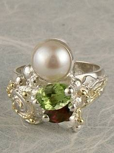 Follow us, Join us on Facebook, and visit http://www.designerartjewellery.com, Gregory Pyra Piro One of a Kind Handmade Jewellery in London in Silver and Gold, Bespoke Jewellery with Semi Precious Stones, #Ring 6936