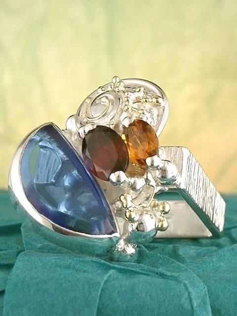 Original Handmade by Artist Designer Maker, Gregory Pyra Piro One of a Kind Original #Handmade #Sterling #Silver and #Gold, Jewellery in #London, #Art Jewellery, #Jewellery Handcrafted by #Artist, #Ring 6832