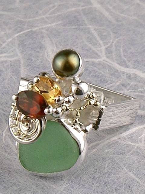 Original Handmade by Artist Designer Maker, Gregory Pyra Piro One of a Kind Original #Handmade #Sterling #Silver and #Gold, Jewellery in #London, #Art Jewellery, #Jewellery Handcrafted by #Artist, #Ring 4264