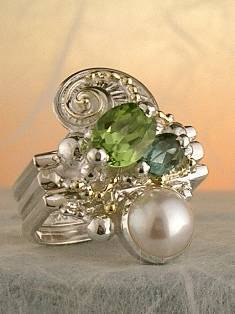 Original Handmade by Artist Designer Maker, Gregory Pyra Piro One of a Kind Original #Handmade #Sterling #Silver and #Gold, Jewellery in #London, #Art Jewellery, #Jewellery Handcrafted by #Artist, #Ring 3843