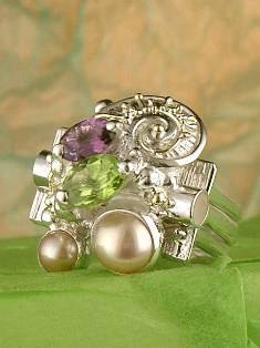 Original Handmade by Artist Designer Maker, Gregory Pyra Piro One of a Kind Original #Handmade #Sterling #Silver and #Gold, Jewellery in #London, #Art Jewellery, #Jewellery Handcrafted by #Artist, #Ring 6839