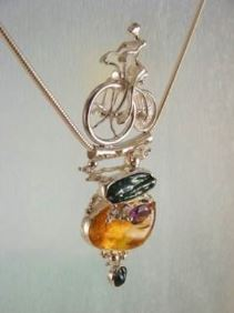 Original Handmade by Artist Designer Maker, Gregory Pyra Piro One of a Kind Original #Handmade #Sterling #Silver and #Gold, Jewellery in #London, #Art Jewellery, #Jewellery Handcrafted by #Artist, #Pendant 2533