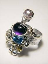 Follow us, Join us on Facebook, and visit http://www.designerartjewellery.com, Gregory Pyra Piro One of a Kind Handmade Jewellery in London in Silver and Gold, Bespoke Jewellery with Semi Precious Stones, #Ring 4020