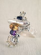 Original Handmade by Artist Designer Maker, Gregory Pyra Piro One of a Kind Original #Handmade #Sterling #Silver and #Gold, Jewellery in #London, #Art Jewellery, #Jewellery Handcrafted by #Artist, #Ring 1725