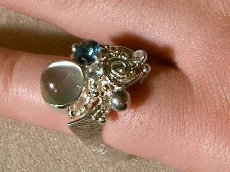 Gregory Pyra Piro Handmade One Of A Kind Rings And Pendants With