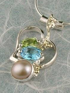 gregory pyra piro conceptual and sculptural one of a kind handcrafted art jewellery, auction style handcrafted jewellery made by jewellery maker, artistic handcrafted jewellery made by artisan, art jewellery handcrafted by artist,  conceptual design jewellery made by artisan, conceptual handcrafted jewellery made by jewellery maker, handcrafted jewellery with gemstones and pearls, conceptual jewellery made from gold and silver,  #Pendant 6734