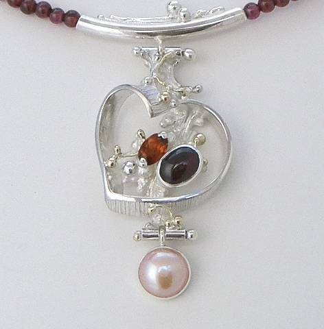 Original Handmade by Artist Designer Maker, Gregory Pyra Piro One of a Kind Original #Handmade #Sterling #Silver and #Gold, Jewellery in #London, #Art Jewellery, #Jewellery Handcrafted by #Artist, #Necklace 7461